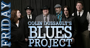 Colin Dussault's Blues Project to perform Friday night
